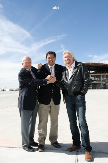 Spaceport America Runway Dedication
