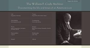 William F. Cody Online Archive