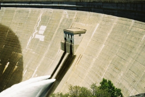 The O'Shaughnessy Dam today