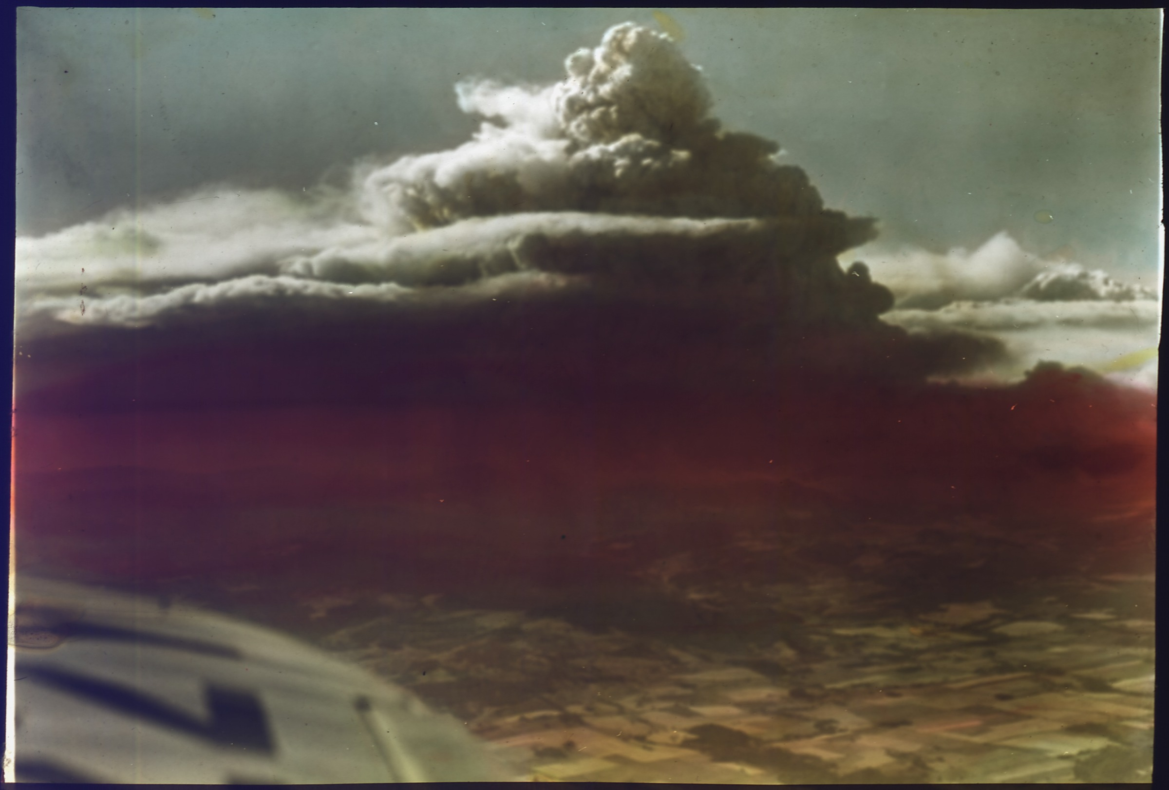 US Forest Service, View of Tillamook Fire, Oregon from airplane, 8/1933
