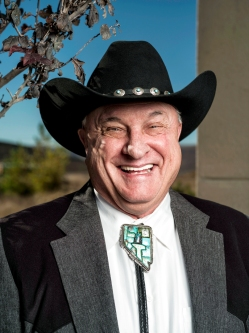 Lance Gilman, owner of the Mustang Ranch. Photo by Winni Wintermeyer for Fortune