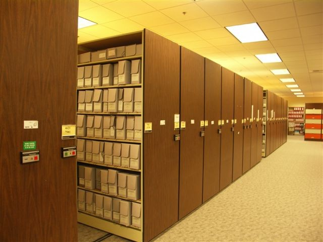 The Nuclear Testing Archive in Las Vegas, Nevada.
